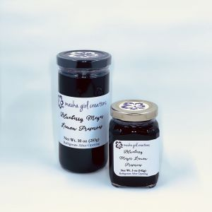 Blueberry Meyer Lemon Preserves